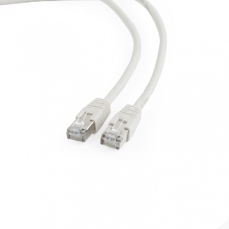 Imagine Cablu de retea RJ45 FTP cat6 0.25m Gri, Gembird PP6-0.25M