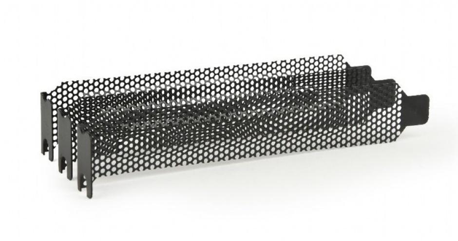 Imagine Set 3 buc bracket PCI / PCI-E ventilat/perforat, Gembird SB-02