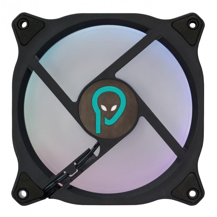 Imagine Ventilator carcasa 120mm RGB, Spacer SP-CF12-RGB