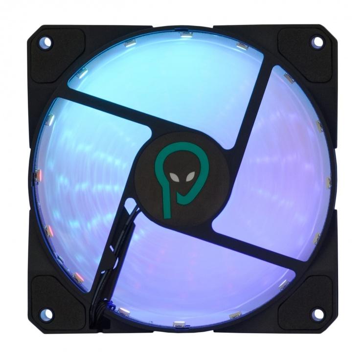 Imagine Ventilator carcasa 120mm RGB, Spacer SP-SF12-RGB