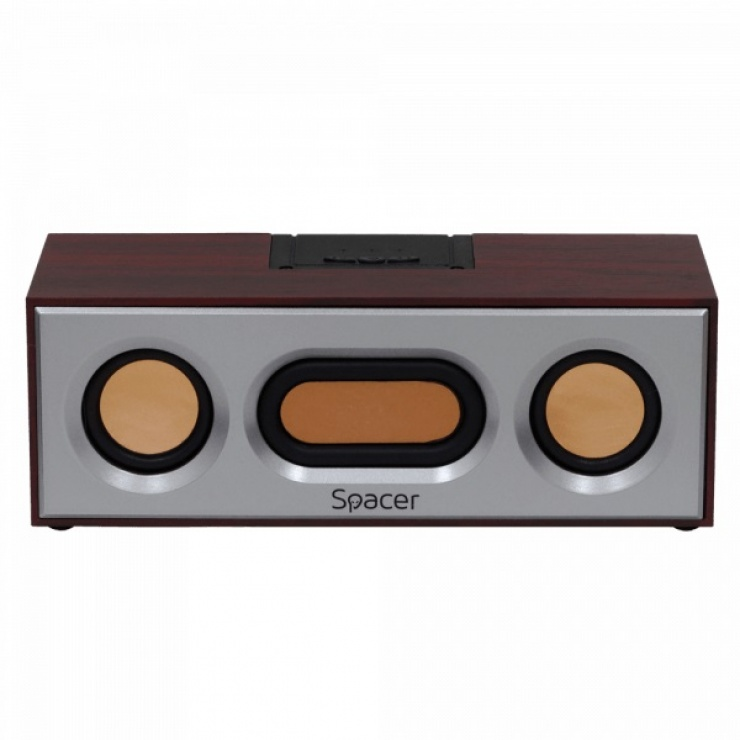 Imagine Boxa portabila bluetooth 2 x 3W RETRO, Spacer SPB-E362-BT