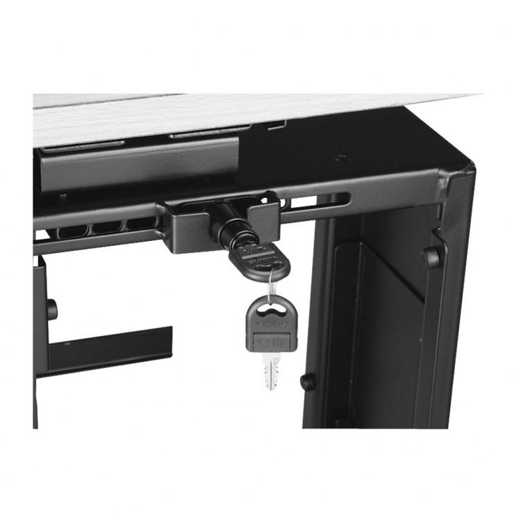 Imagine Suport carcasa PC montare sub birou + sistem blocare, Lindy L40288