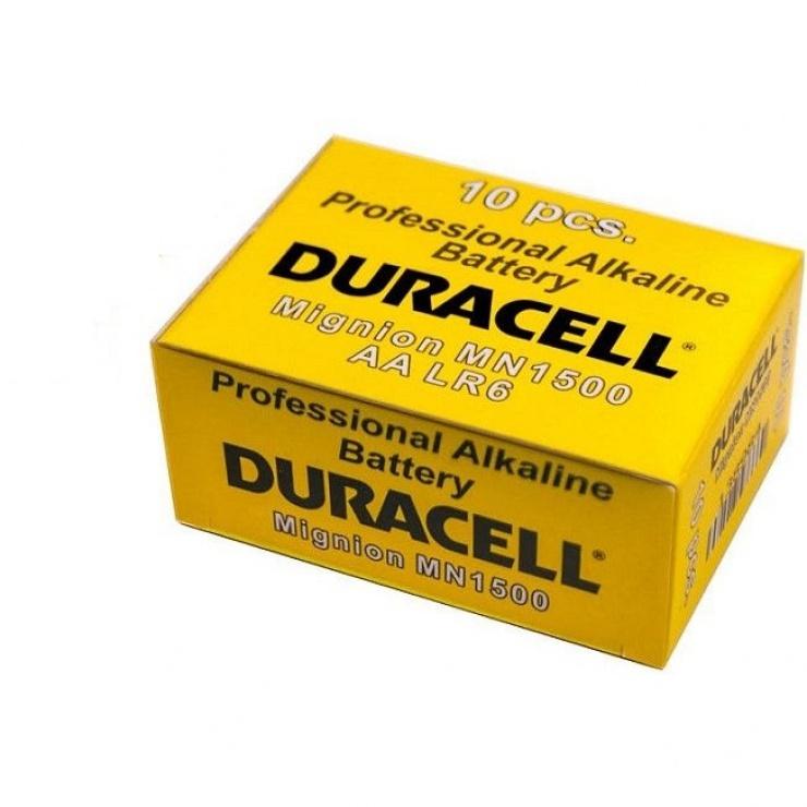 Imagine Set 10 baterii alkaline Duracell Procell AA LR6