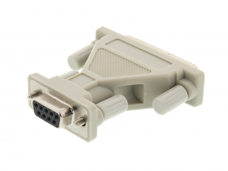 Imagine Adaptor DB25 pini la DB9 pini T-M, r29mf