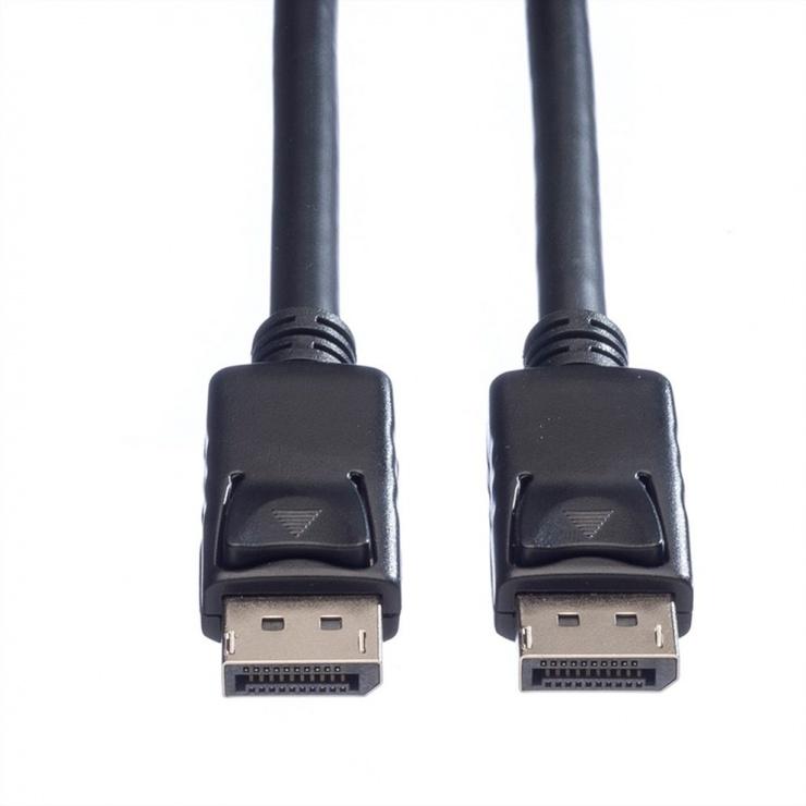 Imagine Cablu Displayport 4K@60Hz T-T TPE 1m Negru, Roline 11.04.5980