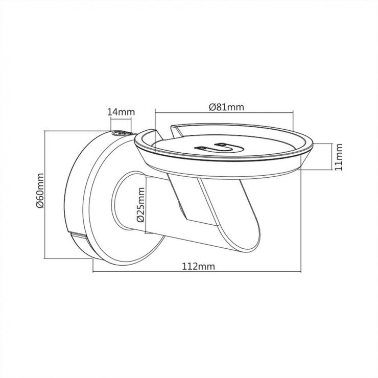 Imagine Suport perete pentru Google Home/Amazon Echo/Apple Homepod, Value 17.99.1327