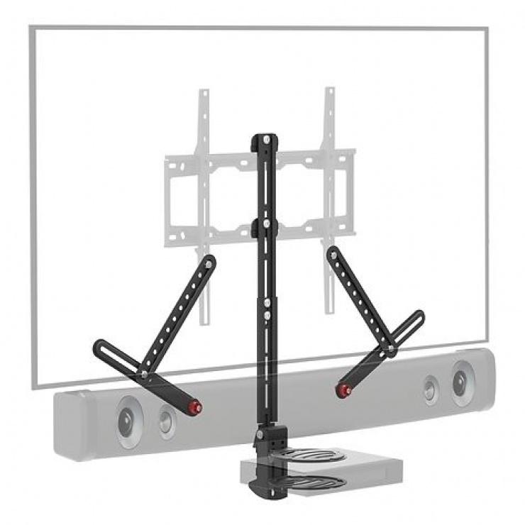 Imagine Suport pentru soundbar max. 6.5kg + raft, Barkan E850