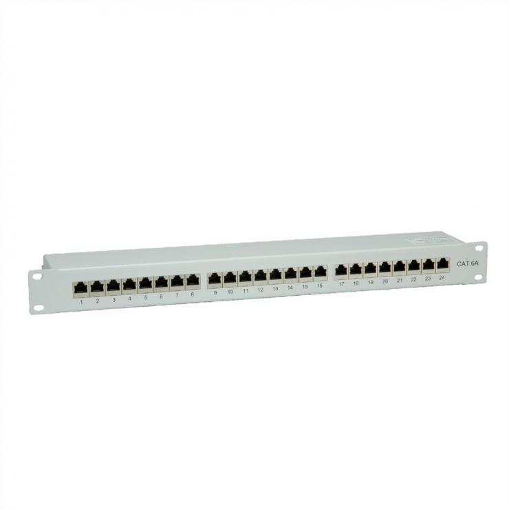 """Imagine Patch Panel 19"""" STP Cat.6A 24 porturi gri, Value 26.99.0361-5"""