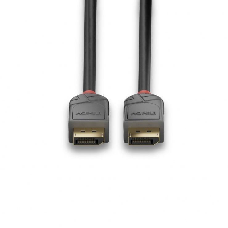 Imagine Cablu Displayport 8K / 4K@160Hz v1.4 T-T 2m Anthra Line, Lindy L36482