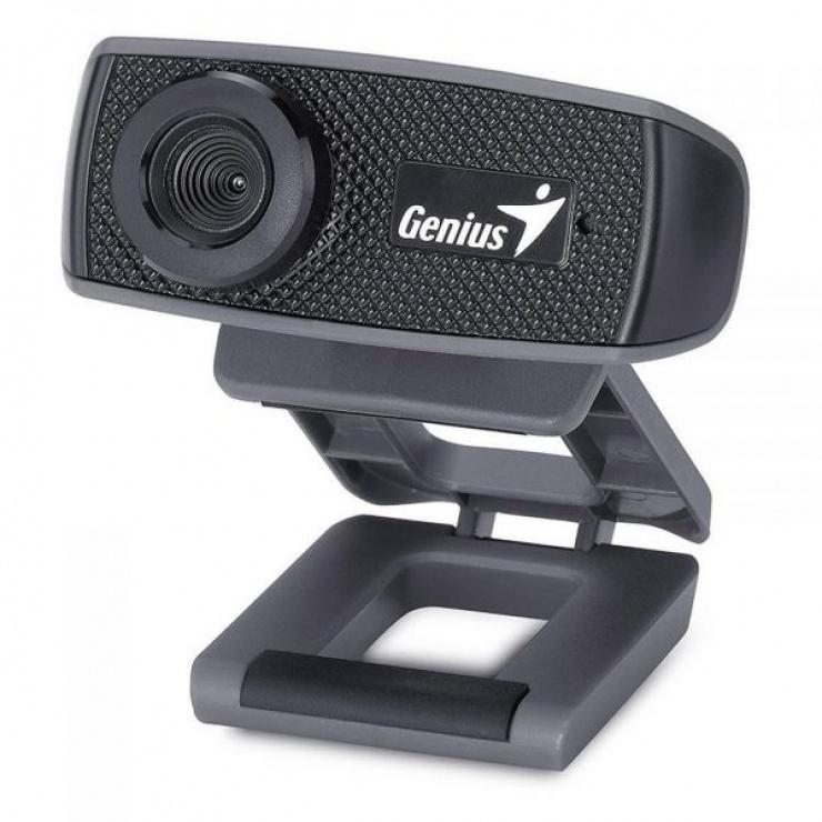 Imagine Camera web 720 HD FaceCam 1000X v2 cu microfon, Genius