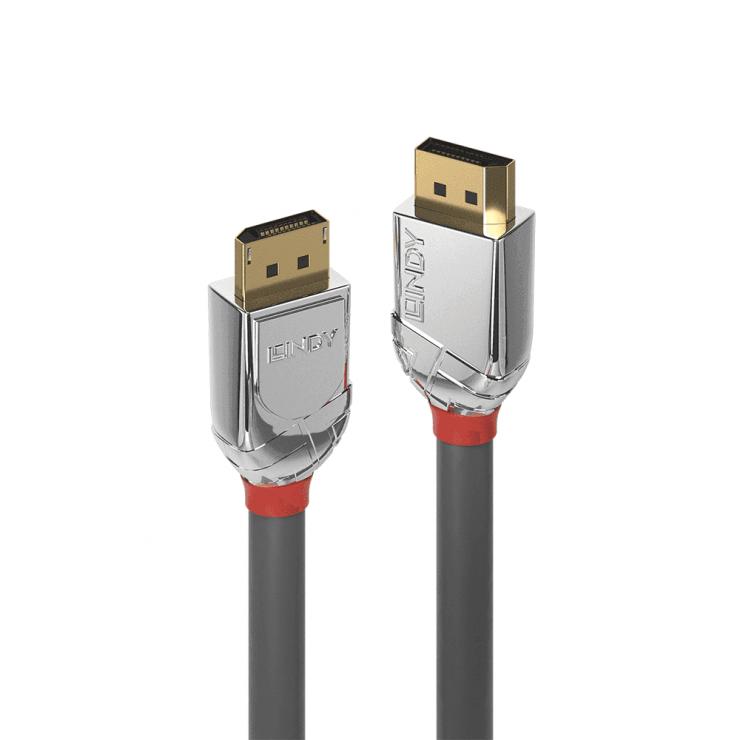 Imagine Cablu DisplayPort 8K / 4K@160Hz T-T v1.4 Cromo Line 0.5m, Lindy L36300