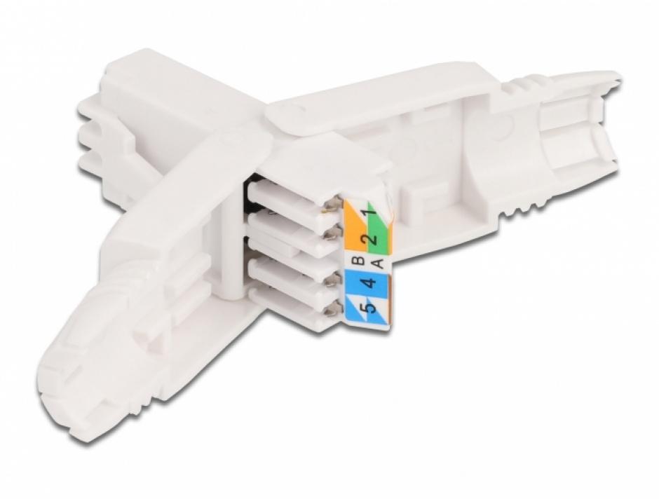 Imagine Adaptor RJ45 Cat.6A UTP toolfree, Delock 86978