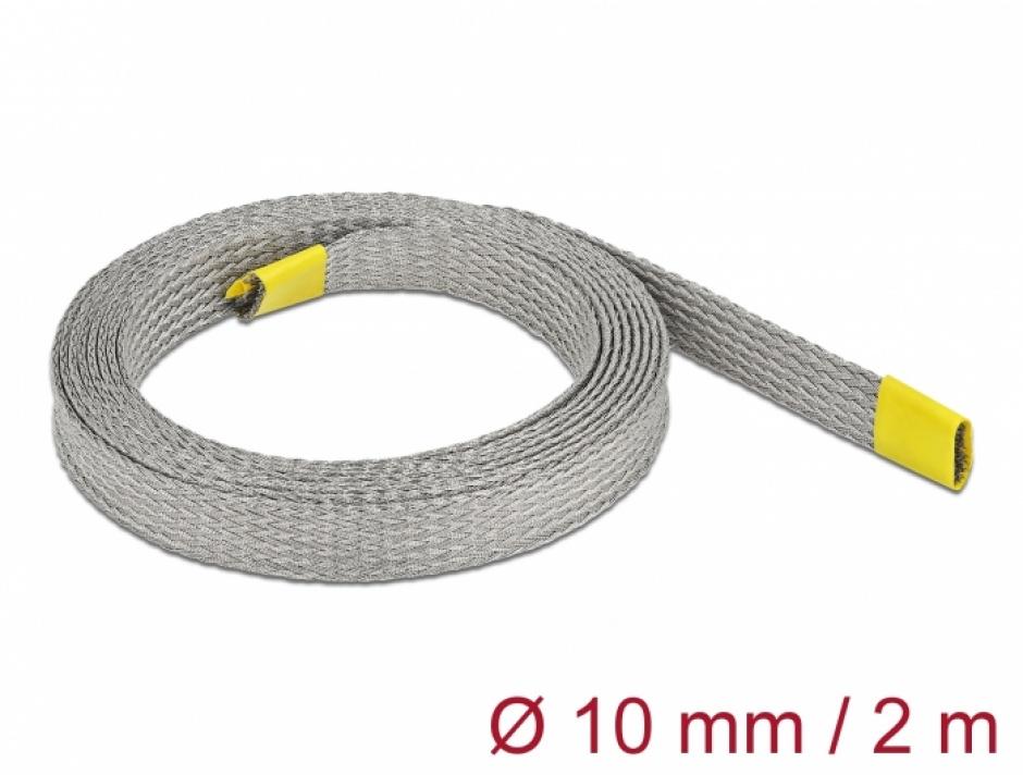 Imagine Plasa pentru organizarea cablurilor EMC 2m x 10 mm, Delock 20788