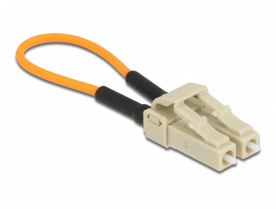 Imagine Adaptor fibra optica loopbackLC / OM2 Multi-mode, Delock 86930