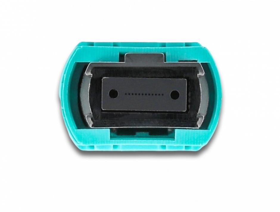 Imagine Cablu fibra optica MPO la MPO Polaritate B multi-mode OM4 2m, Delock 86957