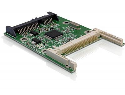 Imagine Card reader intern SATA la Compact Flash, Delock 91660