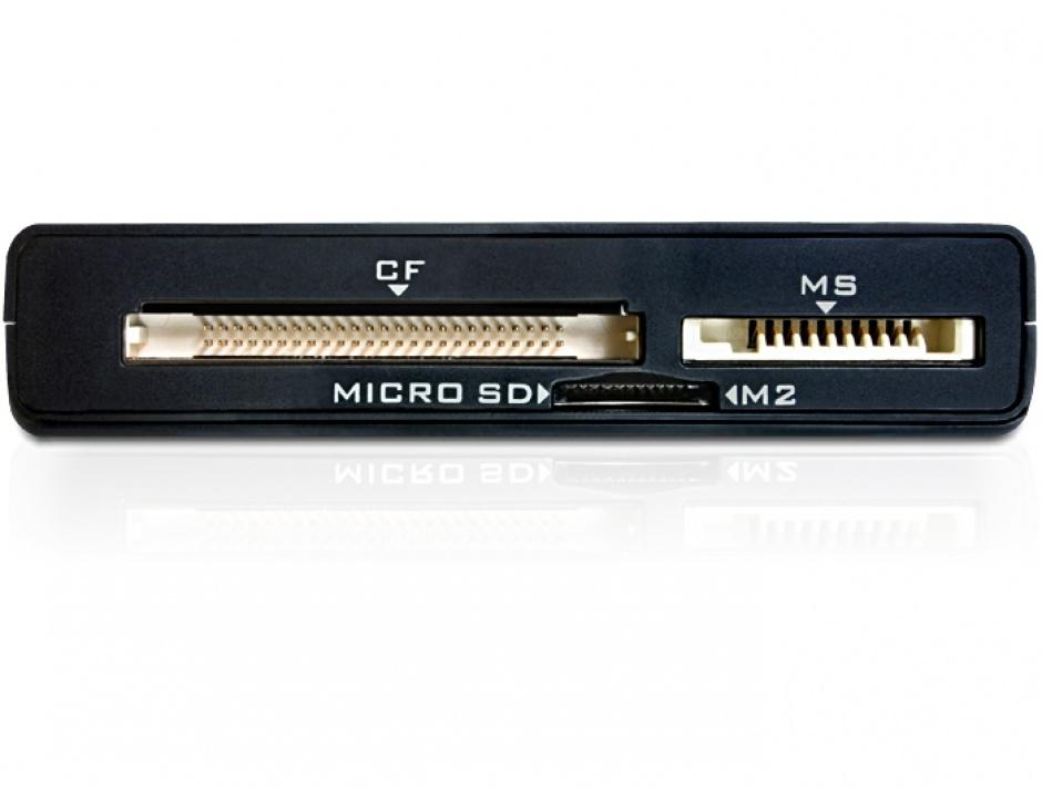 Imagine Cititor de carduri USB 3.0 All in 1, Delock 91712