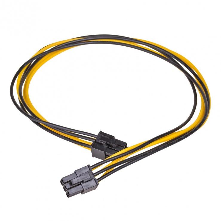 Imagine Cablu PCI Express 6 pini M-M 40cm, AK-CA-49