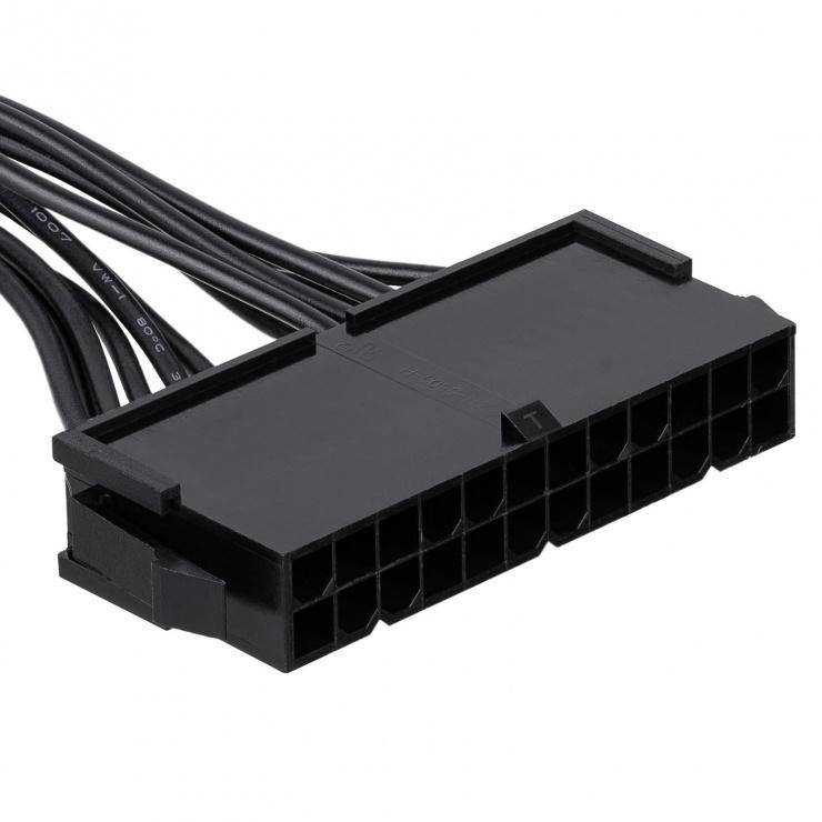 Imagine Cablu de alimentare ATX 24 pini la 14 pini Lenovo IdeaCentre M-T 10cm, AK-CA-77