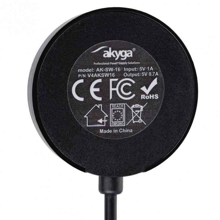 Imagine Cablu de incarcare Xiaomi Amazfit Stratos 3, AK-SW-16