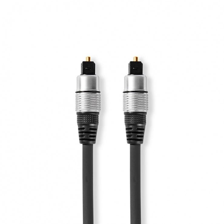 Imagine Cablu audio optic Toslink SPDIF 1.5m, Nedis CAGC25000AT15