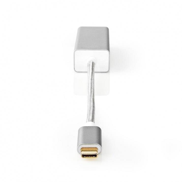 Imagine Adaptor USB 3.2-C Gen 1 la Gigabit LAN Argintiu, Nedis CCTB64950AL02