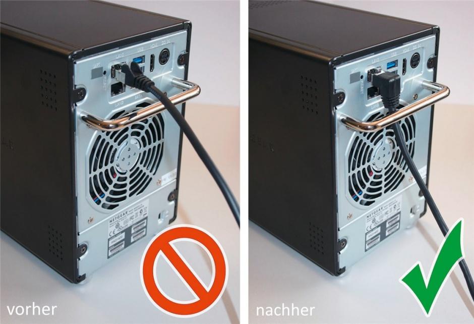 Imagine Cablu de retea cat 6 UTP cu 1 unghi 90 grade 1m Negru, Goobay G51515