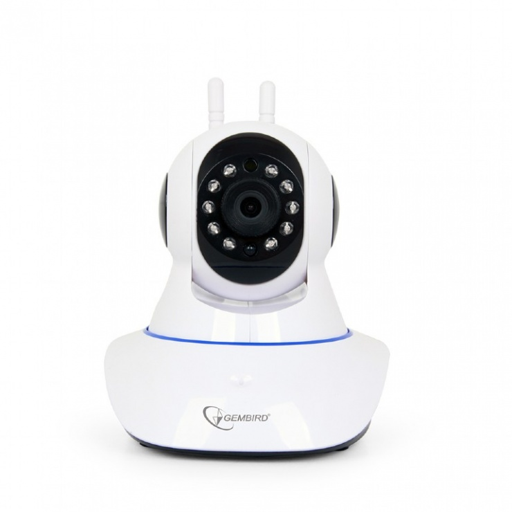 Imagine Camera rotativa HD WiFi pentru interior, Gembird ICAM-WRHD-01