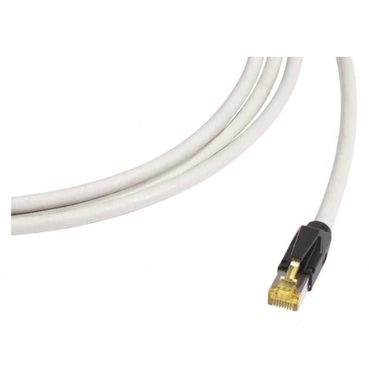 Imagine Cablu prelungitor Cat.6A SFTP cu cablu Cat.7 20m T-M Gri, K7F1-2000-GR
