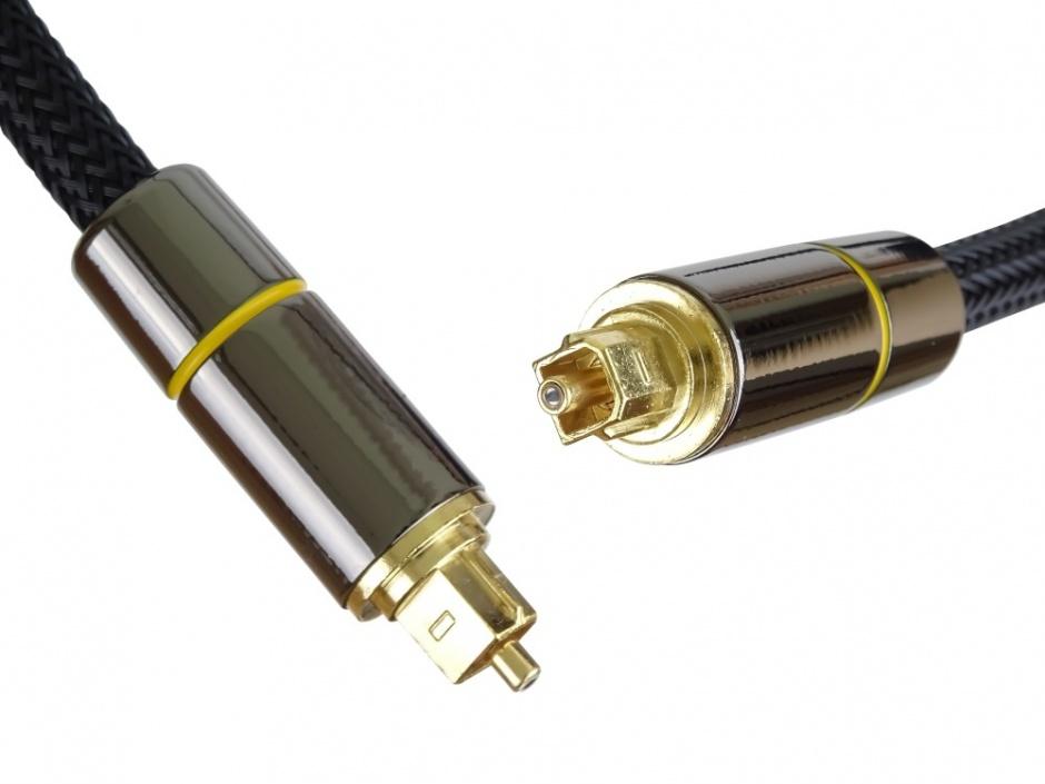 Imagine Cablu audio digital Toslink brodat 3m, kjtos7-3