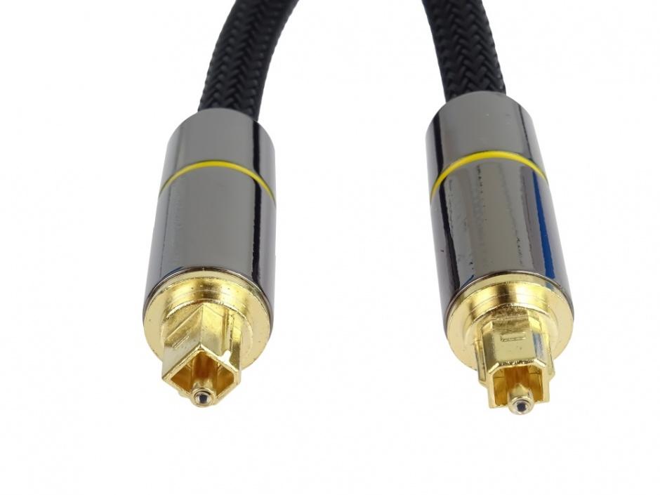 Imagine Cablu audio digital Toslink brodat 1m, kjtos7-1