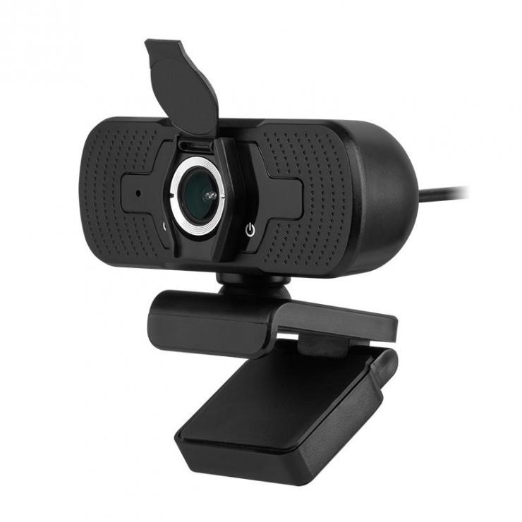 Imagine Camera web Full HD cu microfon, KOM1056
