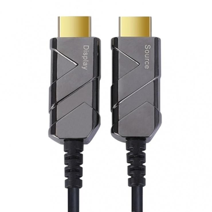 Imagine Cablu Ultra High Speed HDMI 2.1 fibra optica AOC 8K@60Hz 30m, kphdm21x30