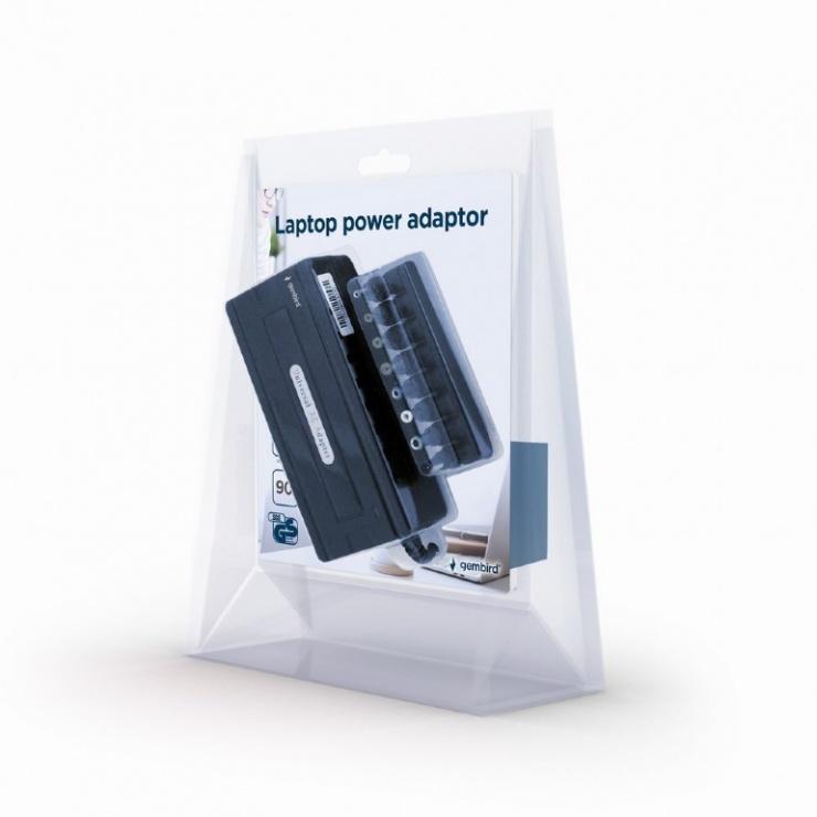 Imagine Alimentator notebook universal 90W, Gembird NPA-AC1-GS