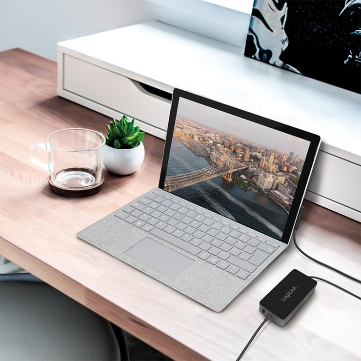 Imagine Incarcator laptop seria Surface 44W, Logilink PA0197