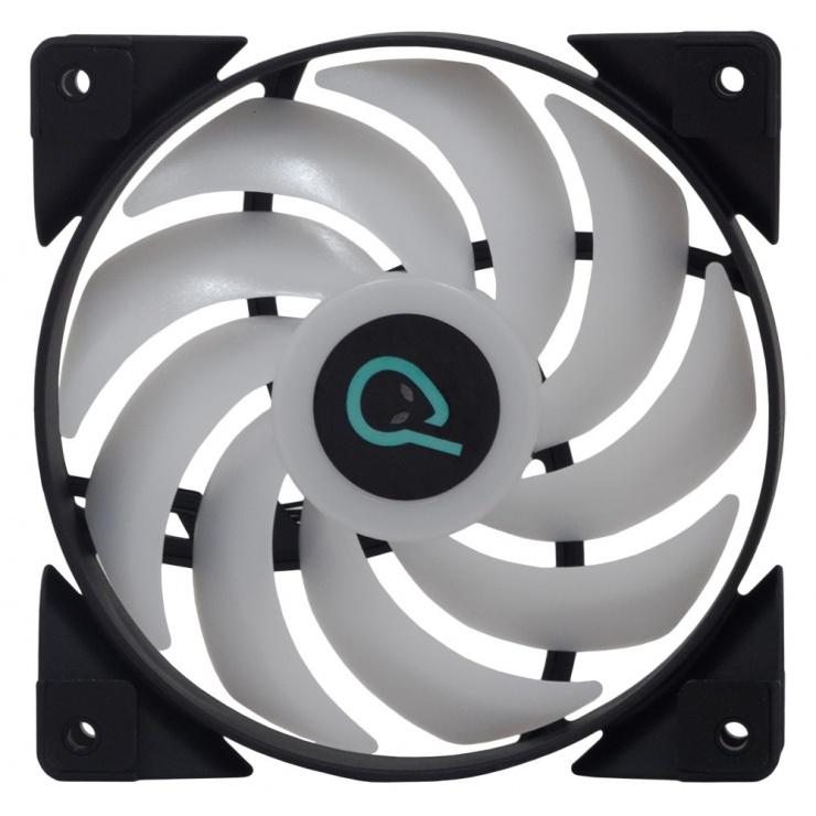 Imagine Ventilator RGB 120mm Hydraulic Bearing 3 pini, Spacer SPFC-120-3P-RGB