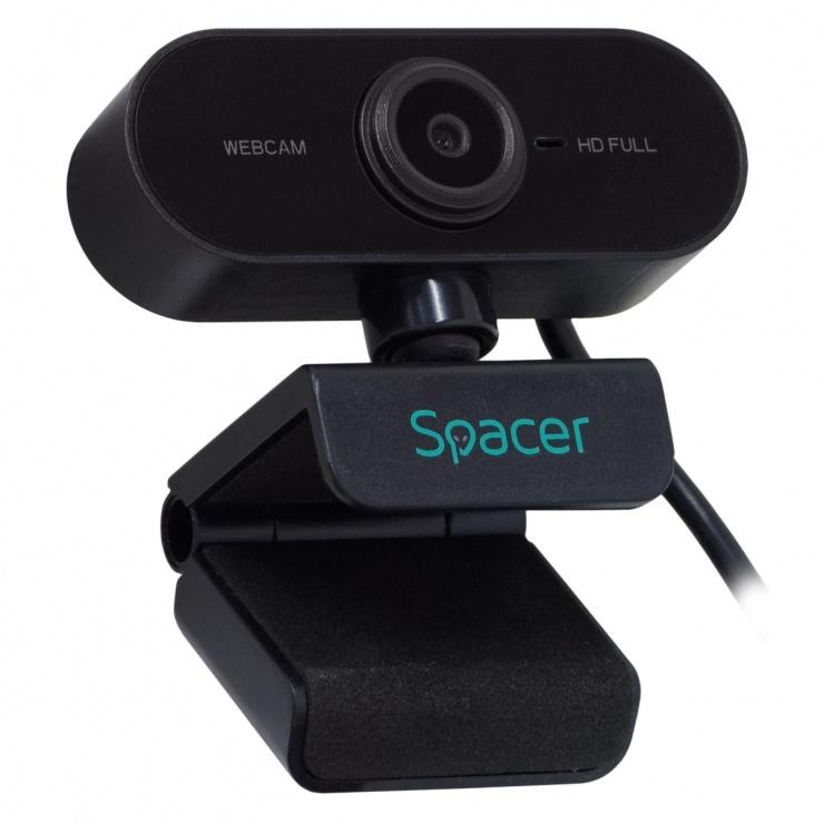 Imagine Camera web 1080p Full-HD, Spacer SPW-CAM-01