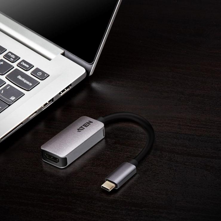Imagine Adaptor USB-C la HDMI 4K@60Hz T-M, ATEN UC3008A1