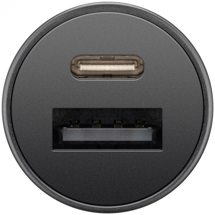Imagine Incarcator auto 1 x USB-C PD + 1 x USB-A, Goobay G55634