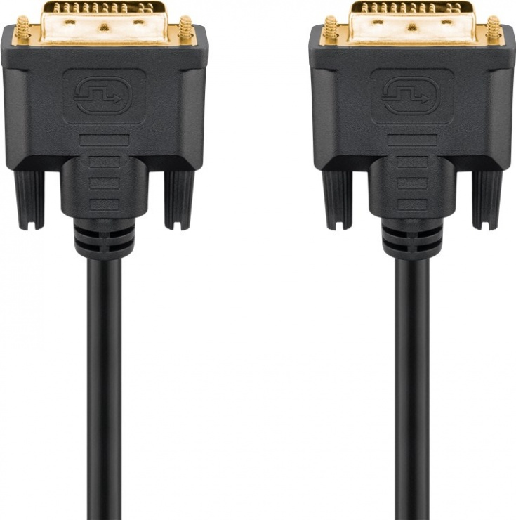 Imagine Cablu DVI-I Dual Link 24+5 pini T-T 2m, G69203