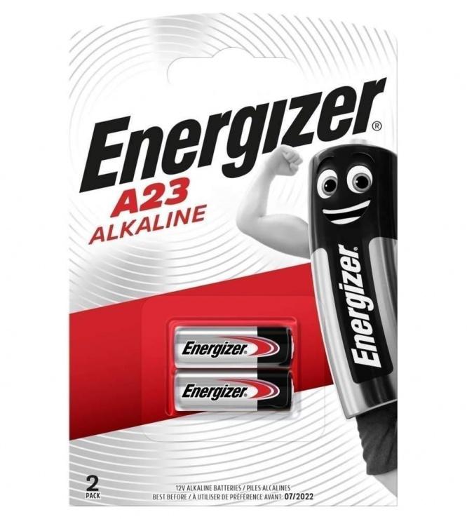 Imagine Set 2 baterii pentru telecomanda auto 12V 23A MN21, ENERGIZER