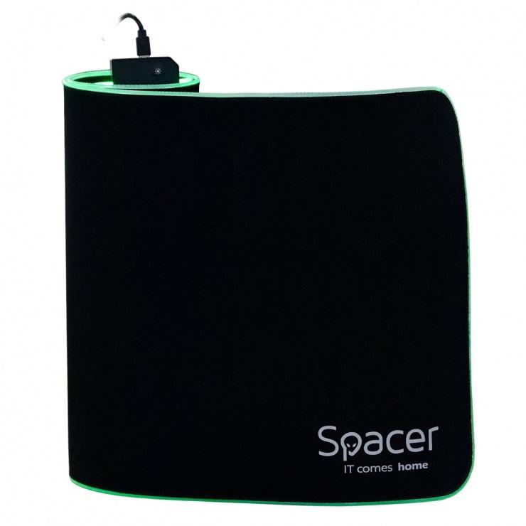 Imagine Mousepad Gaming RGB 900 x 300 x 3 mm, Spacer SP-PAD-GAME-RGB