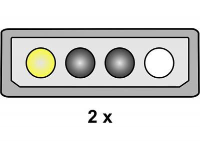 Imagine Cablu alimentare PCI Express 8pini, Delock - 2