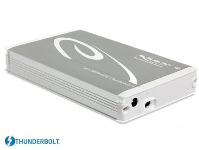 "Imagine Rack Extern pentru HDD SATA 2.5"" la Thunderbolt, Delock 42510"