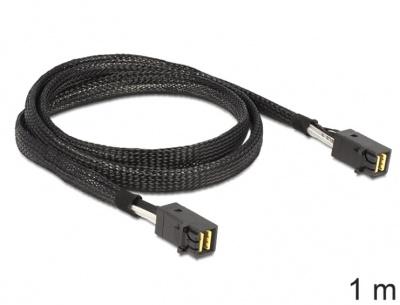 Imagine Cablu Mini SAS HD SFF-8643 la Mini SAS HD SFF-8643 1m, Delock 83387-1