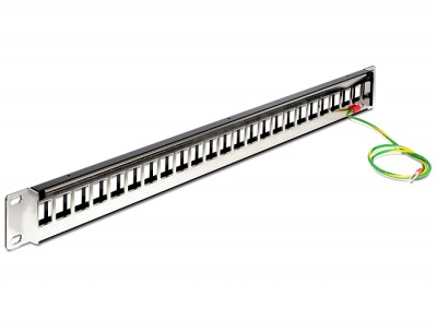 "Imagine Patch Panel 19"" 24 Porturi pentru Keystone, Delock 43266"