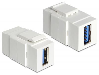 Imagine Modul Keystone USB 3.0-A M-M, Delock 86319