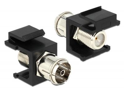 Imagine Modul Keystone IEC M la F M Negru, Delock 86352