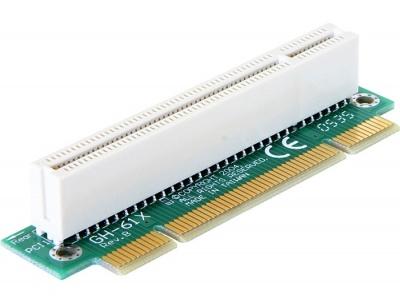 Imagine Riser card PCI 32 biti unghi 90 grade insertie stanga, Delock 89071