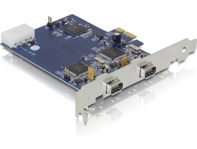 Imagine PCI Express Card la Dual FireWire A, Delock 89172